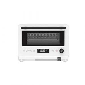 1000W Combinaison micro-ondes 23L 220 V, simple bouton Opération Smart Oven Convient for Cuisine/café Maison/Librairie, Blanc