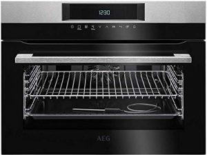 AEG-Electrolux KEK 742220 M Four compact multifonction, finition inox anti-traces, longueur 60cm