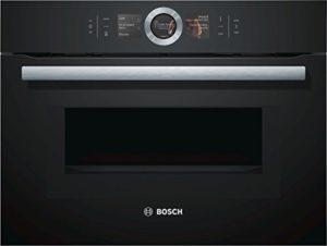 Bosch cmg676bb1série 8Four et feux/Mini Four/45l/technique de même de nettoyage/Noir