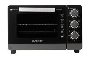 Brandt – Four Multifonction 26L Noir – Mécanique