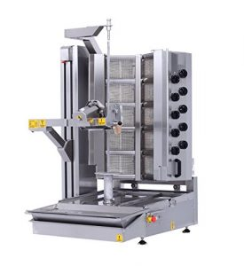 Dekor robot Mug Doner machine à gaz cuisinière 10brûleurs