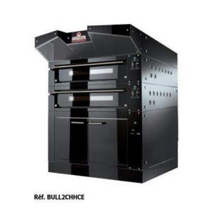 Four à pizza double électrique professionnel – 24 pizzas – Italforni –