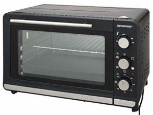 Generic SILVERCREST SGBR 1500 C4 Mini Four à Gril et Machine à pâtisserie avec rotisserie