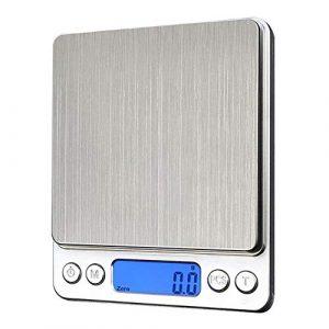 Gouar Mini 0.01g de Pesage électronique de Pesage échelle Balance de Cuisine électronique au Four échelle Alimentaire