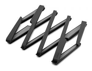 Joseph Joseph – Stretch – Dessous de Plat Design et Extensiblen Antidérapant, Résiste à 220 Degrés – Noir