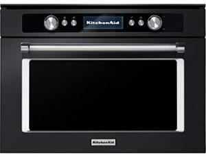KitchenAid KMQCXB 45600 micro-onde Intégré Micro-onde combiné 40 L 900 W Noir – Micro-ondes (Intégré, Micro-onde combiné, 40 L, 900 W, Boutons, Rotatif, Noir)