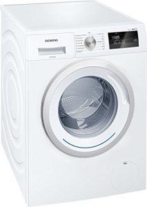 Lave linge Frontal Siemens WM14N060FF – Lave linge – Pose libre – capacité : 7 Kg – Vitesse d'essorage maxi 1400 tr/min – Moteur à induction – Classe A+++ -10%