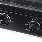 Rosenstein & Söhne Mini four:mini four compact avec deux niveaux, 900W, 9L, format vertical