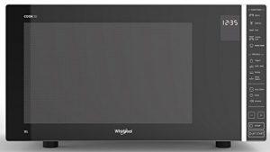 Whirlpool MWP 303 SB Comptoir Micro-onde combiné 30L 900W Gris – Micro-ondes (Comptoir, Micro-onde combiné, 30 L, 900 W, Tactil, Gris)