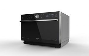 Whirlpool MWP 3391 SB Comptoir Micro-onde combiné 33L 1000W Noir, Argent – Micro-ondes (Comptoir, Micro-onde combiné, 33 L, 1000 W, Rotatif, Tactil, Noir, Argent)