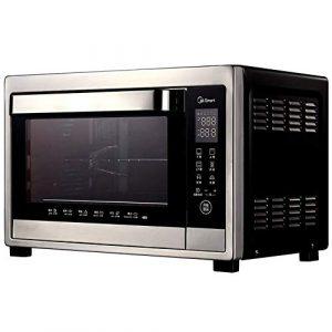 W-WXT 38L Haute capacité Four Cuisinière et Grill avec 3 fonctions de cuisson, température réglable de contrôle et de la minuterie – Accessoires inclus-1500W