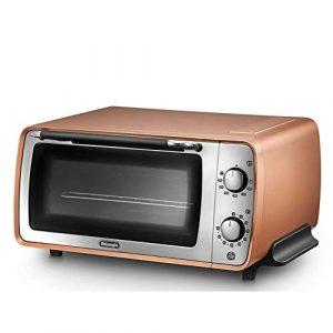 W-WXT Maison mini four petit four électrique multifonction 9L avec barbecue functionsuitable for la nourriture barbecue, tournez le bouton de fonction de contrôle de la température à la position de fo