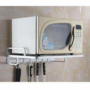 Four à micro-rack étagères de cuisine Micro-ondes de stand Support rack réglable électrique Four rack Accessoires de cuisine MMD (Color : B)