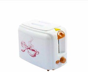 HAOT Grille-Pain des ménages Machine à Pain de Cuisson Automatique Chauffe-Sandwich Machine à Petit-déjeuner Mini Four à Pain grillé 2 tranches
