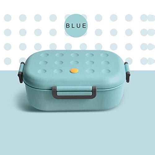LIJ Boîte à déjeuner pour enfants au micro-ondes, récipient de collation Bento Boîte de cuisine Conteneur de nourriture pour l'école pique-nique Accessoires