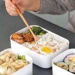 didatecar Réfrigérateur en Plastique bac à Micro-Ondes Four à Lunch Boîte Rectangulaire Petite Boîte à Lunch Boîte de Rangement des Aliments(S)