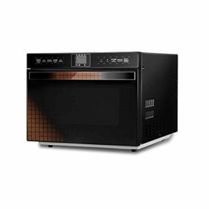 Atten Compact micro-ondes avec conversion de fréquence intelligente, Cuisine capteur, rapide Chauffage Four, fonctionnement de l'écran tactile en acier inoxydable, 25 Litres