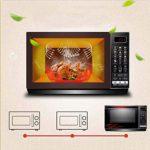 Barbecue Micro-ondes Micro-ondes, Micro-ondes combiné numérique avec grill et four à convection, Fry et croustillants Fonction Grill, Menu intelligent, Four style Tirer la porte vers le bas, Capacité