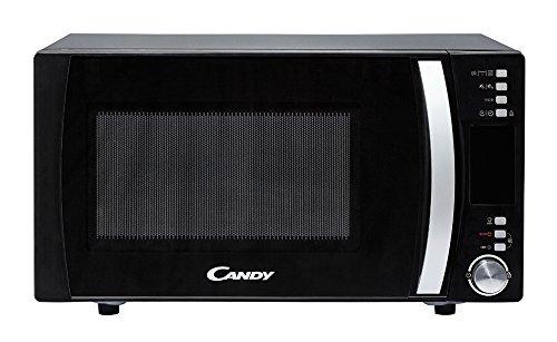 Candy CMXG 25DCB Comptoir Micro-onde combiné 25L 900W Noir, Acier inoxydable – Micro-ondes (Comptoir, Micro-onde combiné, 25 L, 900 W, boutons, Rotatif, Noir, Acier inoxydable)