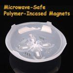 EasyBuying Couvercle anti-éclaboussures pour micro-ondes avec aérations de vapeur 29,2 cm