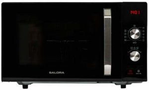 Salora 23MCD800 micro-onde Comptoir Micro-onde combiné 23 L 800 W Noir – Micro-ondes (Comptoir, Micro-onde combiné, 23 L, 800 W, Boutons, Rotatif, Noir)