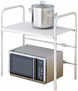 GYJ Étagères de cuisine pour four à micro-ondes, étagère à épices télescopique