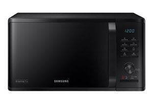 Samsung MG23K3515CK micro-onde Countertop Grill microwave 23 L 800 W Black – Micro-ondes (Countertop, Grill microwave, 23 L, 800 W, Buttons,Rotary, Black)