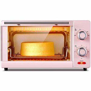 YHLZ Mini-four, 1000W ménages multi-fonction Mini électrique Four 11L Température commandable 100-230 ℃ et 60 minutes minuterie intelligente gâteau de pain de cuisson Boîte en verre trempé avec des ac