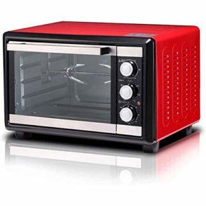 YHLZ Mini-Four, Mini 18L Four Multifonction 1380W Normale complètement Automatique sur 360 ° Fourche Fermentation Décongeler Passe Timing réglage de la température 0-250 ° C et 120 Minutes Moment
