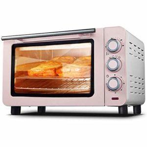 YHLZ Mini-four, mini-four électrique 15L Température commandable 100-230 ℃ et 60 minutes Timing 3 Méthodes de chauffage des ménages multifonctionnel intelligent gâteau de pain de cuisson du four en ve