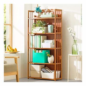 GLMAS Étagère de rangement multifonction en bois massif pour four à micro-ondes, bibliothèques, étagères à fleurs, étagères à chaussures pour salon, 5-80 cm