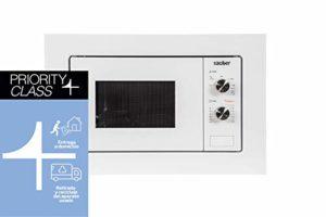 Sauber HMS01 Four micro-ondes avec grill intégré blanc