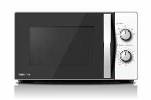Toshiba MW-MG20P (WH) Four à micro-ondes avec grill 800 W avec Crispy Grill 1000 W & cuisson combinée, 20 L