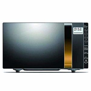 ZJDK Four à Micro-Ondes Intelligent 20L, 900W avec Fonction de décongélation, avec écran LCD, Plusieurs Modes de Menu, adapté à la Cuisson, au Grillage, à la Cuisson de gâteaux, Facile à Nettoyer