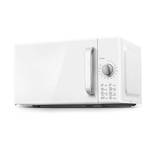 DUTUI Micro-Ondes Mini Cuisinière Multifonctionnelle Rotative À Induction Domestique Opération Simple Et Nettoyage Facile 20L Blanc