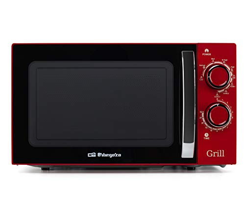 Orbegozo Micro-ondes Avec grill 700-900 W rouge