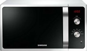 Samsung Four à micro-ondes Emballage E-commerce. Blanc.